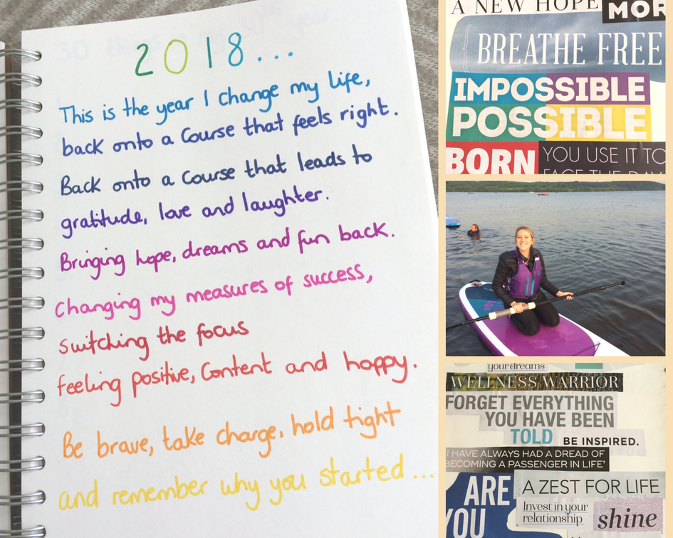 2018 – The Year I Change My Life